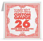 "Ernie Ball P01126 .026"" Nickel Wound Electric Guitar String"