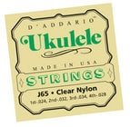 D`Addario J65 Strings for Soprano Ukulele J65