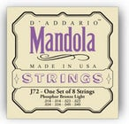 D`Addario J72 Light Phosphor Bronze Mandola Strings