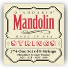 D`Addario J74 Medium Phosphor Bronze Mandolin Strings J74