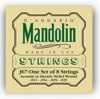 D`Addario J67 Medium Nickel Mandolin Strings