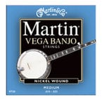 Martin Strings V-730 Vega Banjo Medium Nickel Wound Strings .010-.023 V730
