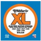 D`Addario EXL110-10P 10 Pack of Regular Light XL Electric Guitar Strings