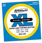 Super Light Top/Regular Bottom XL Electric Guitar Strings
