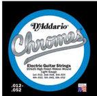 D`Addario ECG25 Regular Light Chrome Flatwound Electric Guitar Strings
