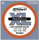 D`Addario EPS600 Jazz Medium XL ProSteels Electric Guitar Strings
