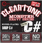 """Cleartone Guitar Strings 9460 .012-.060"""" Drop C# Electric Guitar Strings"""