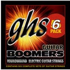 GHS GBL-5 Six-Pack of Light Boomers Electric Guitar Strings