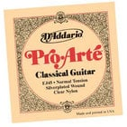 "D`Addario EJ45 .028-.043"" ProArte Silver Normal Tension Nylon Classical Guitar Strings"