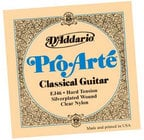 D`Addario EJ46 Hard Tension ProArte Silver Classical Guitar Strings