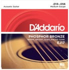 D`Addario EJ17 Medium Phosphor Bronze Acoustic Guitar Strings