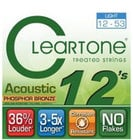 Cleartone Guitar Strings 7412-CLEARTONE Light Acoustic Guitar Strings with Coating