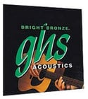 GHS Strings BB30L Light Bright Bronze 80/20 Copper-Zinc Acoustic Guitar Strings BB30L