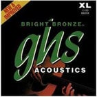 GHS Strings BB20X Extra Light Bright Bronze 80/20 Copper-Zinc Acoustic Guitar Strings BB20X
