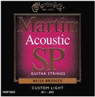 Martin MSP3050 Custom Light SP 80/20 Acoustic Guitar Strings