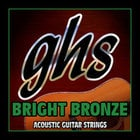 GHS Strings BB40M Medium Bright Bronze Acoustic Guitar Strings