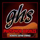 GHS Strings S335 Medium Phosphor Bronze Acoustic Guitar Strings