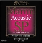 Martin MSP4050 Custom Light Martin SP Phosphor Bronze Acoustic Guitar Strings