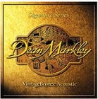 Dean Markley 2004-DEAN-MARKLEY Medium Light VintageBronze Acoustic Guitar Strings