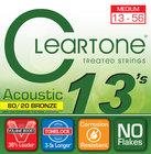 Cleartone Guitar Strings 7613 Medium Coated Acoustic Guitar Strings