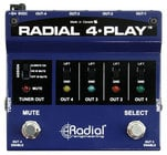 Radial Engineering 4-Play Multi-channel instrument DI