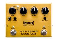 MXR Pedals M287 ctaveBassFuzz Bass Fuzz Pedal
