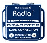 Radial Engineering DRAGSTER Stand-Alone Guitar Drag Control / Load Correction