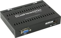 Matrox DualHead2GO DVI [RESTOCK ITEM] Digital Version (with 2 DVI-I Outputs) DUAL2GO-DVI-RST-04