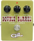 G&L Guitars DOUBLE-BARREL Guitar Pedal, 30dB Clean Boost with Lo and Hi Controls DOUBLE-BARREL