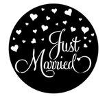 Just Married Steel Gobo