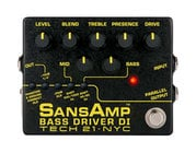 Tech 21 SansAmp Version 2 Bass Driver DI Pedal