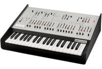 Full-Size Duophonic Analog Synthesizer, White