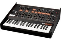 Duophonic Analog Synthesizer, Black/Orange