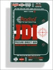 Radial Engineering JDI-MK3 Passive DI, Ground Lift, Jensen Transformer, 10-80 kHz