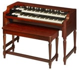 Hammond Suzuki USA Inc Model A-3 Heritage System XK System Series Organ, Red Walnut Finish