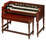 Hammond Suzuki A3-HERITAGE-SYS Model A-3 Heritage System XK System Series Organ, Red Walnut Finish