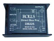 Rolls DB225 Transformer Balanced, Passive Professional Direct Box