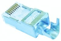 Jar of 50 Shielded EZ-RJ45 Connectors