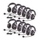 Classroom 10-Pack of Switchable Stereo/Mono Headphones