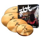 "Zildjian ZBTP390A ZBT 5 Cymbal Set 5 Cymbal Set 14"" Hi-Hats,16"" Crash, 20"" Ride with free 18"" Crash"