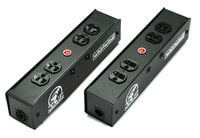 Whirlwind PL1T-420-BK  PL1 Stringer with PowerCon True1 I/O, Black Outlets
