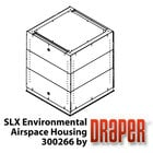 Draper Shade and Screen SLX Environmental Airspace Housing (White) for Scissor Lift SLX
