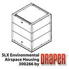 Draper Shade and Screen SLX Environmental Airspace Housing (White) for Scissor Lift SLX