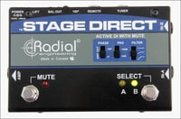 Radial Engineering StageDirect Active DI Box with Muting