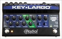 Radial Engineering Key-Largo Keyboard Mixer, Performance Pedal and DI Box
