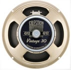 "Celestion Vintage 30 12"" Guitar Speaker VINTAGE-30"