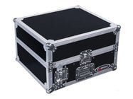 Odyssey FZ1002  Pro Combo Rack Flight Case with 10RU Top Slanted Rack & 2RU Bottom Vertical Rack