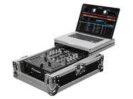 "Odyssey FZGS10MX1  Flight Zone Low Profile Glide Style Series Universal 10"" DJ Mixer Case"