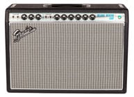 "Fender DELUXE-REVERB-68-CUS '68 Custom Deluxe Reverb 22W 1x12"" Vintage Modified Tube Combo Electric Guitar Amplifier with Amp Cover"