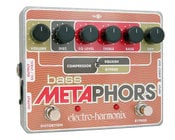 Electro-Harmonix BASS METAPHORS Bass Preamp with EQ, Distortion, Compression, DI & Multi-Effect, PSU Included